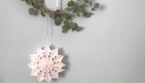 Kerstknutsel diy, diy raamdecoratie, kerst knutselen, kerstknutsel