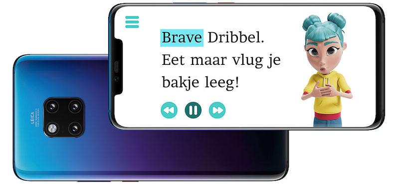 storysign app, storysign, dove kinderen voorlezen