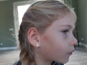 zilveren meisjessieraden, kindersieraden, meisjesoorbellen, oorbellen meisje, oorbellen kind, sieraden kind