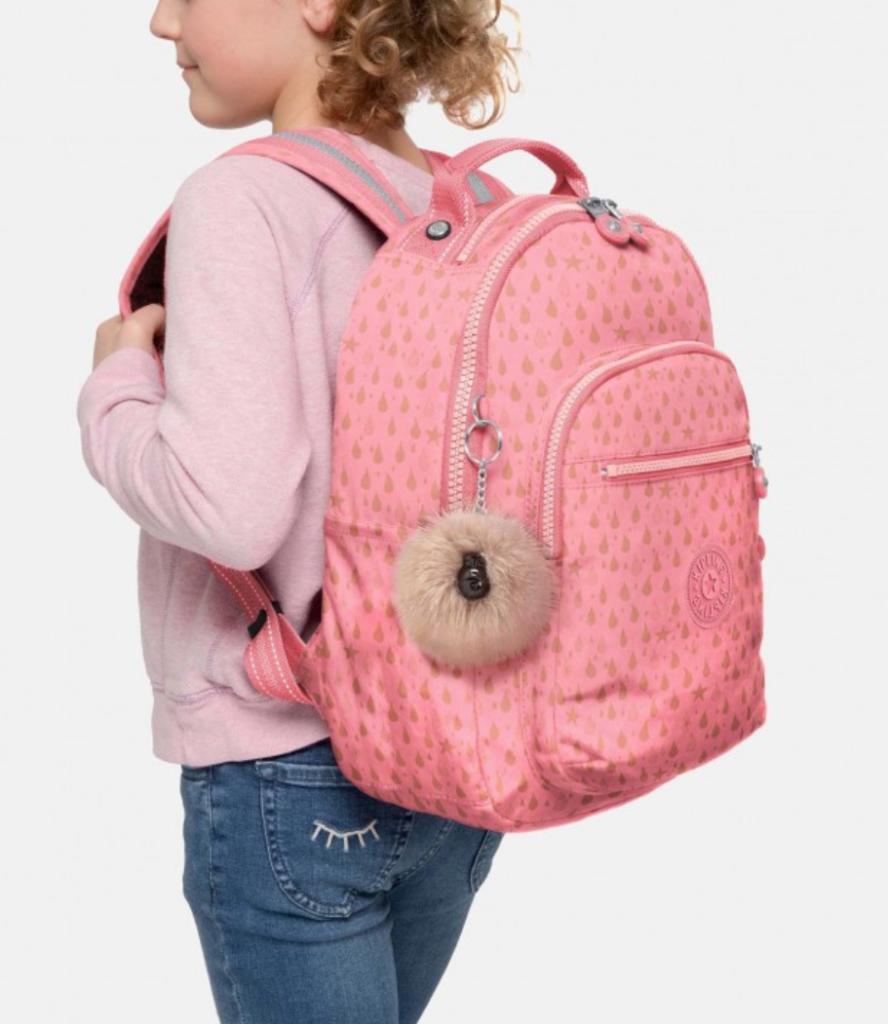 kipling, kipling rugzak, kipling rugzak meisje, kipling rugzak roze