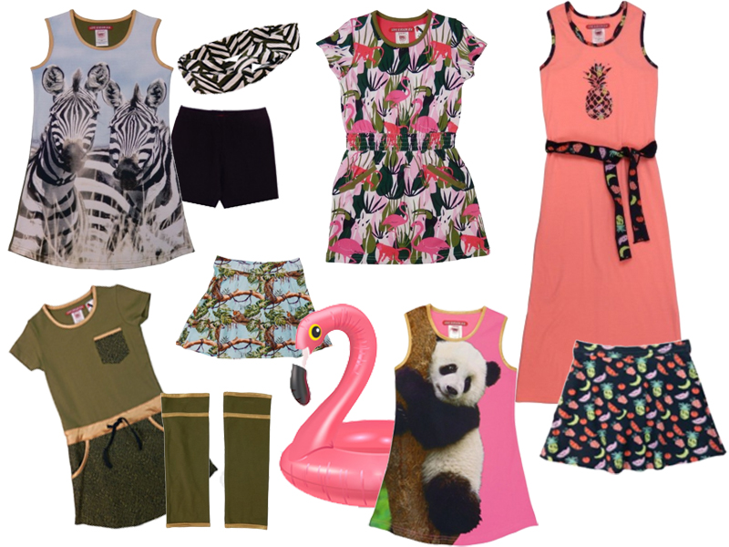 Lovestation 22 collage voorjaar 2019, get the look meisjes, meisjesjurkjes, lovestation22, zomerjurkjes