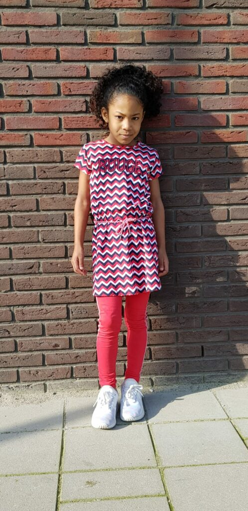 quapi jurkje rood, quapi legging, quapi zomerjurk, quapi zomercollectie, quapi voorjaarsmode