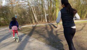 samen hardlopen, hardlopen met kind, samen sporten, sporten met kind