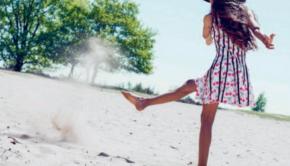 jurk lofff, jurk kersen, zomercollectie lofff, zazi brands
