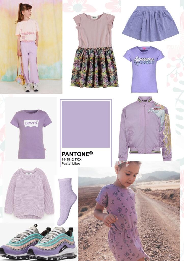lila jurkje, lila meisjesjurk, girlslabel lila, trendkleur lila, lila meisjesmode, lila kinderkleding, lila meisjeskleding, trend kleur lila, lila kinderkleding