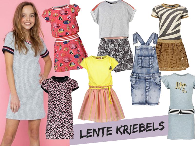 lente jurkjes, zomerjurkjes voor meisjes, zomerjurk meisjes, zomerjurkjes, ko en flo kindermode