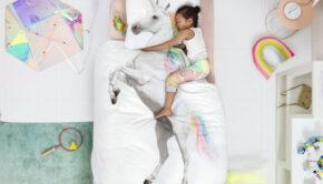 unicorn slaapkamer, unicorn kamer, unicorn dekbedovertrek, unicorn accessoires