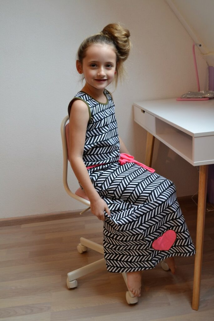 long dress, zomerjurk, zomercollectie lovestation22, zazi brands