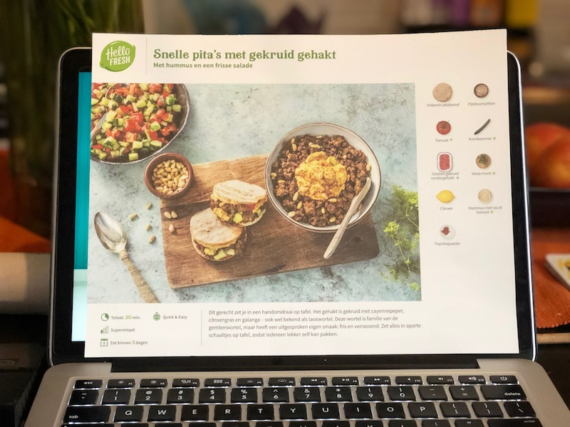 hello fresh recept, hello fresh bestellen, hello fresh recensie, hello fresh review