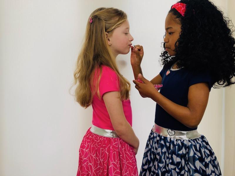 twinning jurkjes, twinning bff's, bff jurkjes, zomerjurkjes Lofff, lofff meisjeskleding