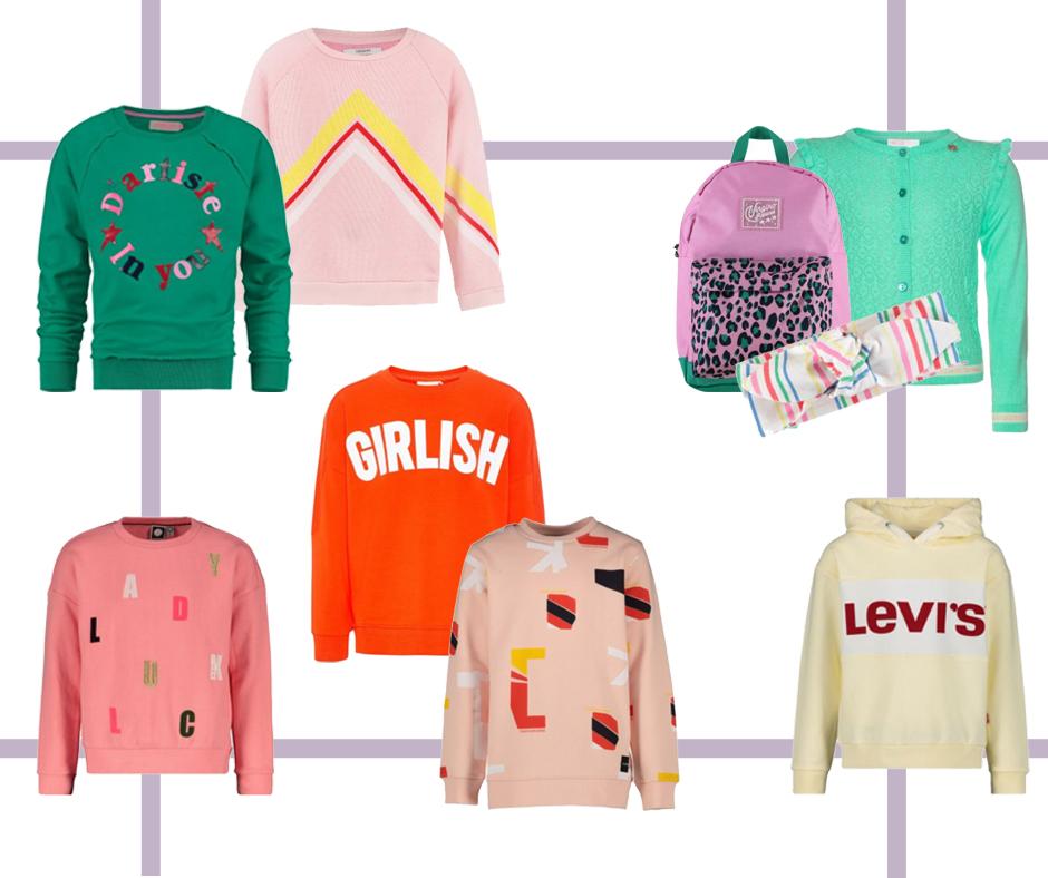 Kleertjes sweaters voorjaar 2019, sweater meisje, trui meisje, kleertjes meisjes, kleertjes sweater