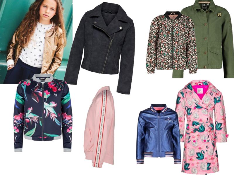 Kleertjes voorjaar jassen, nieuwe zomerjas meisjes, voorjaarscollectie meisjes, tussenjas meisjes, meisjes jas