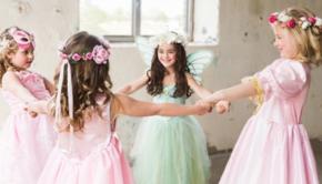 prinsessenjurk, verkleedjurk, verkleedjurk meisje, verkleden meisje, prinses meisje