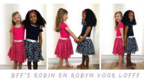 twinning jurkjes, bff jurkjes, lofff zomerjurk, lofff meisjeskleding