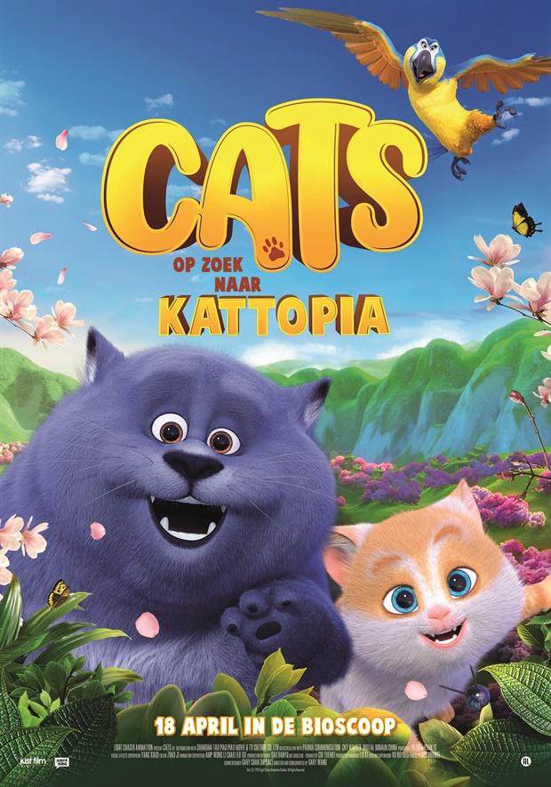 cats op zoek naar kattopia, cats animatiefilm, cats kinderfilm, kinderfilm tips