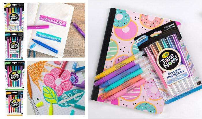 Crayola Take Note stiften en pennen