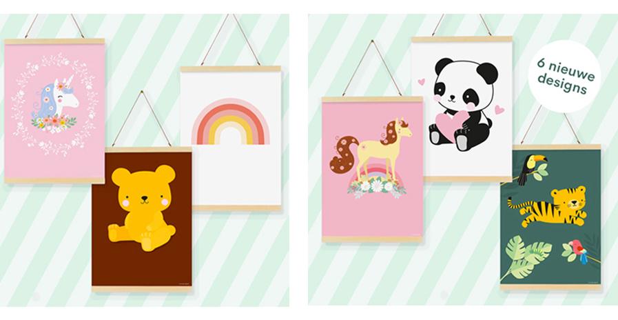 poster kinderkamer, a little love company, meisjeskamer winactie, poster meisjeskamer, poster unicorn