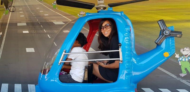 helicopter attractie