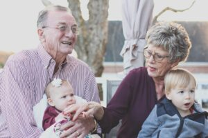 ouderschap vroeger en nu, oma en opa