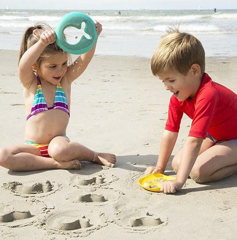 zandfiguren, zeef, strandspeelgoed, duurzaam strandspeelgoed