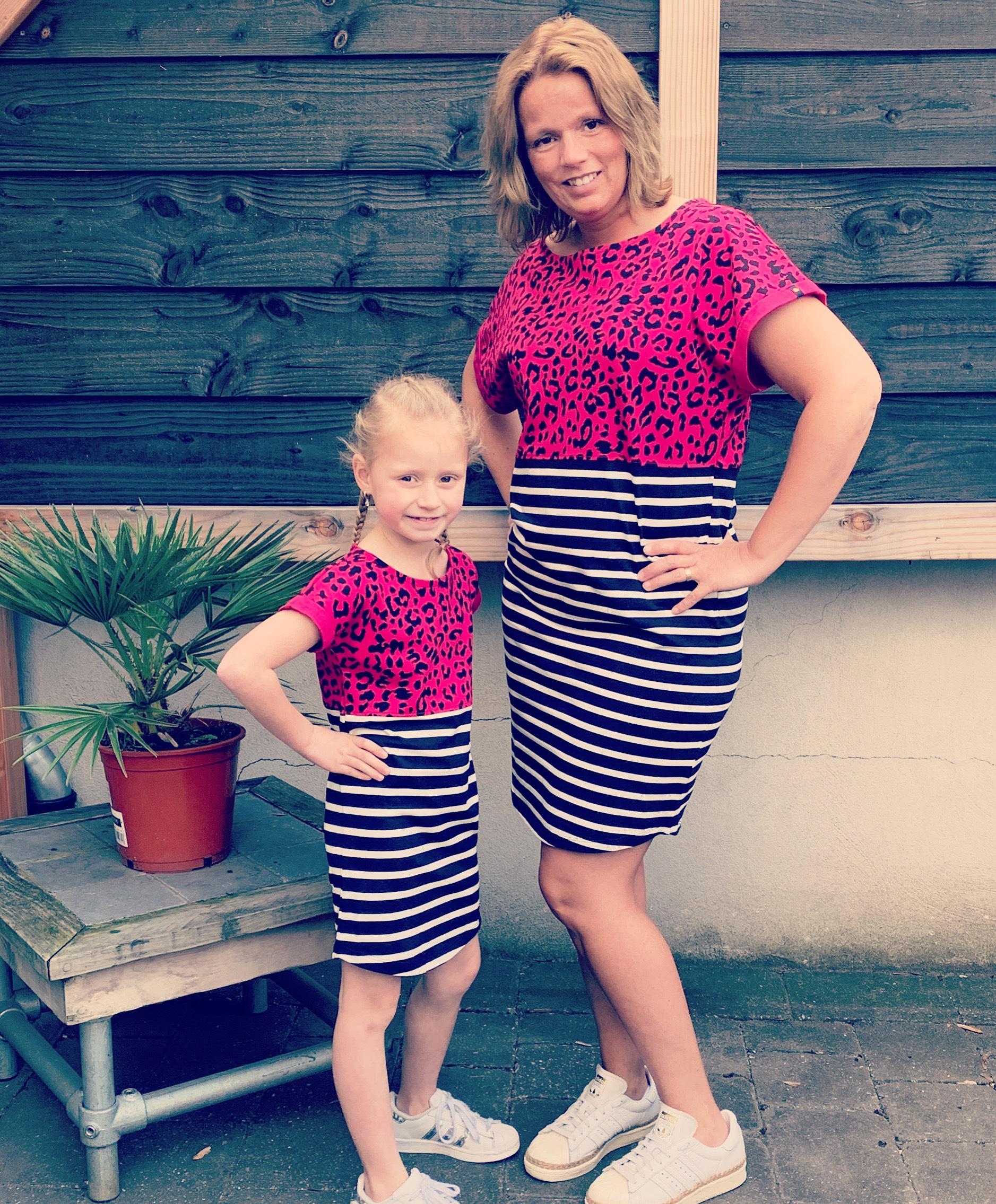 moeder dochter jurk