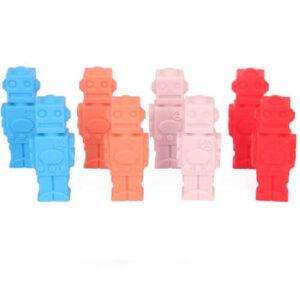 potloodtopper-robot1, kauwsieraden en meer, potloodtopper