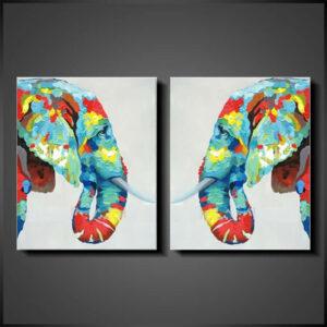 schilderijen-online-Twins, meerluik, meerlijk schilderij
