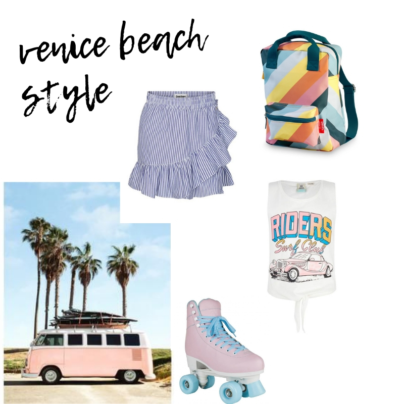 meisjeslook, venice beach stijl, sporty look, outfit tips
