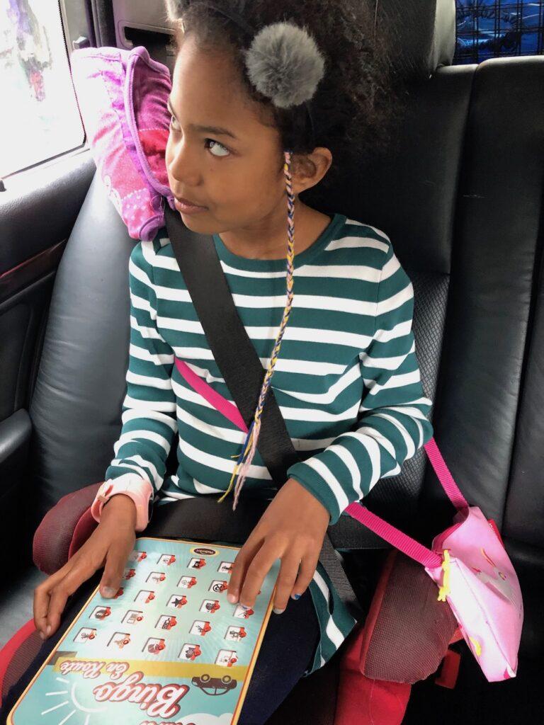 autobingo, autovakantie met kinderen