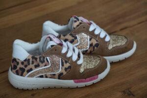 schoenen luipaarprint, kinderschoen luipaard