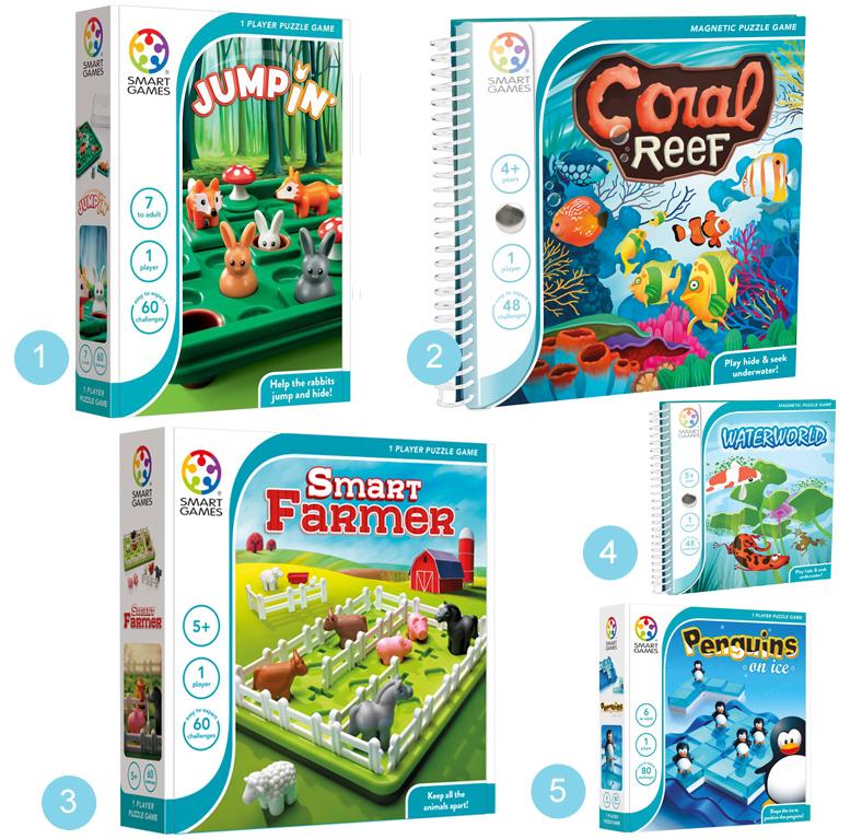 educatief speelgoed, SMARTGAMES