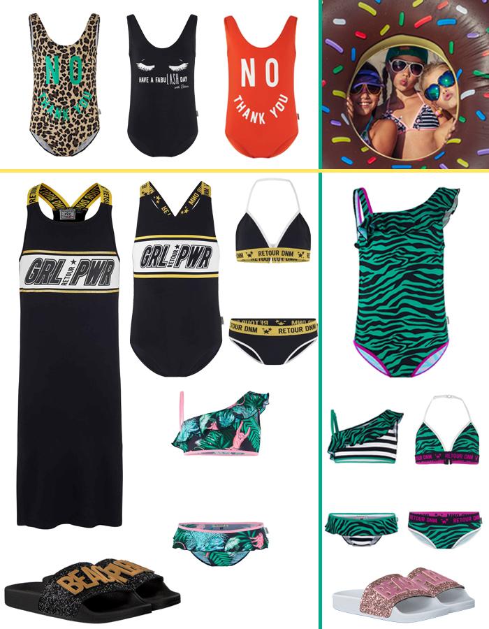 meisjes bikini, hippe zwemkleding meisjes