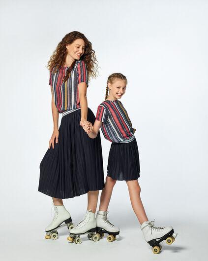 moeder dochter kleding, plisse rok voor meisjes en moeders