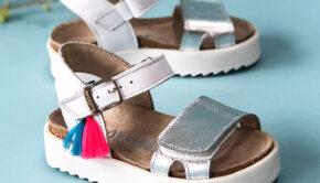 witte sandalen, kindersandalen, shoesme sandalen, meisjessandaal