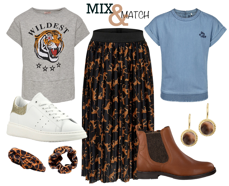 Mix and Match, meisjeskleding, AW19, trendy meisjeskleding, meisjeskleding shopping