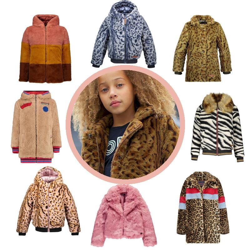 Bontjas voor meisjes | Meisjes winterjassen GIRLSLABEL