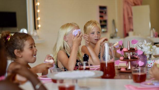 ideeen kinderfeestjes, meisjes feest, leuke meisjesfeest tips