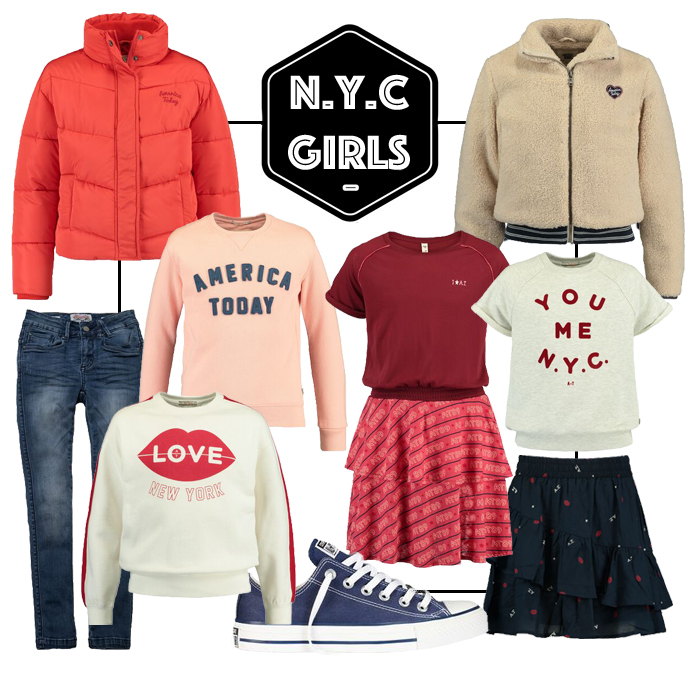Kinderkleding America Today, Shop the look, NYC look, NYC style kids, get the look meisjes