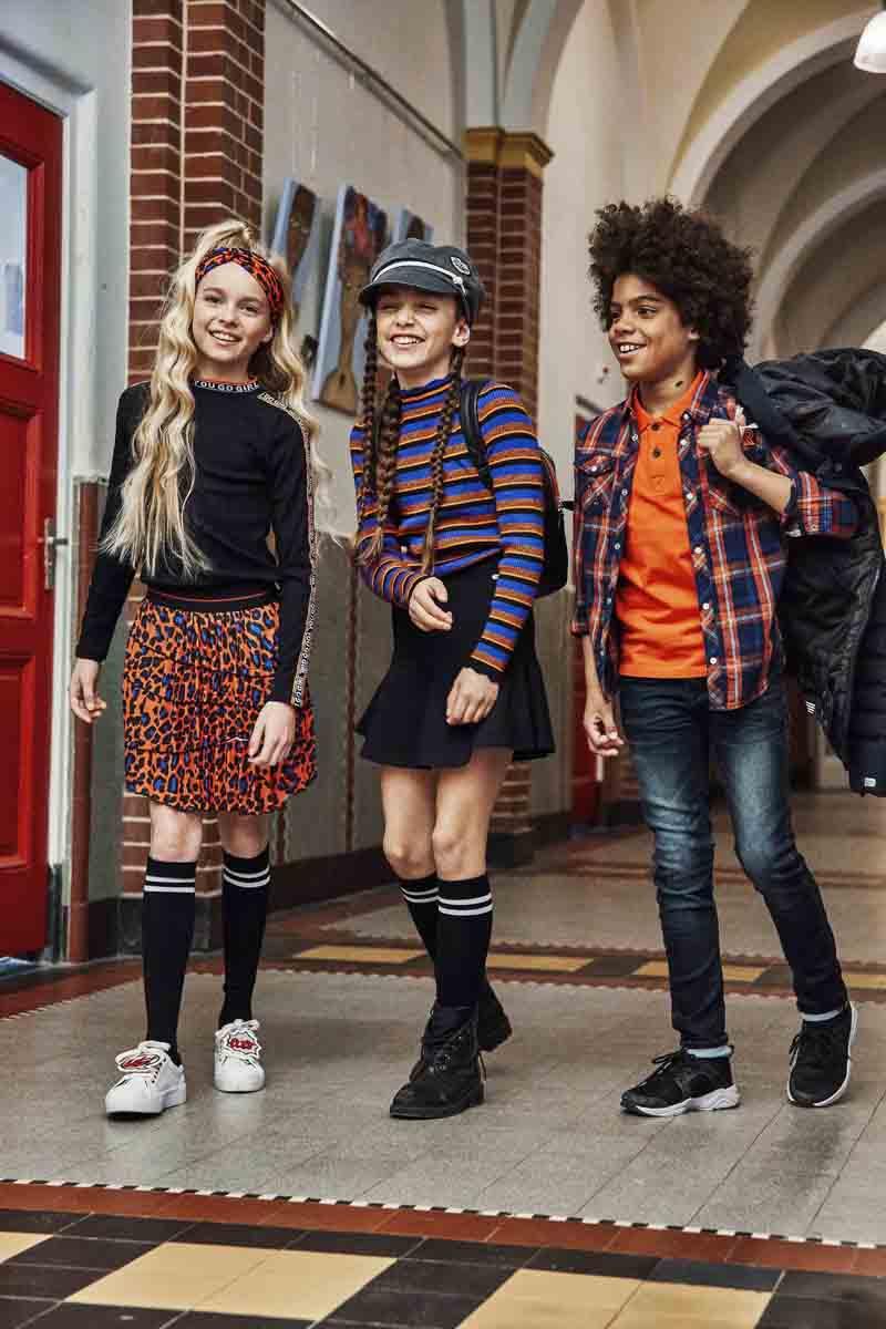 hippe schoolkleding meisje
