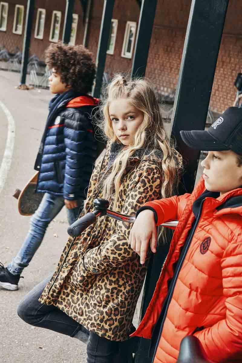 retour jeans winterjassen, luipaardprint winterjas meisje, stoere winterjas kind, retour jeans winter 2019-2020