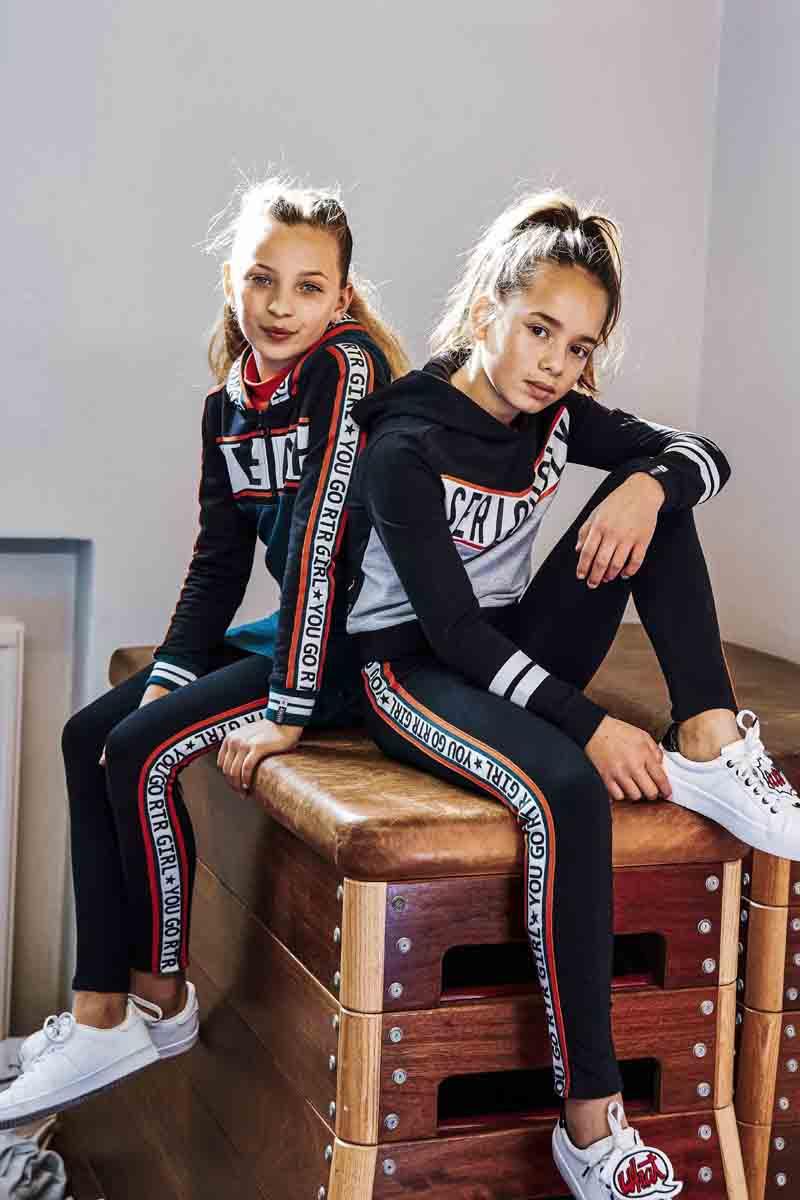 sportieve meiden outfit, retour jeans, retour winter, tienerkleding
