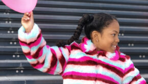 bontjas voor meisjes, meisjesjas, winterjas meisje