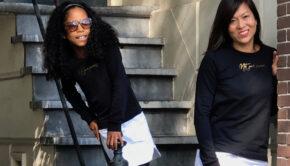 twinning style, levv girls