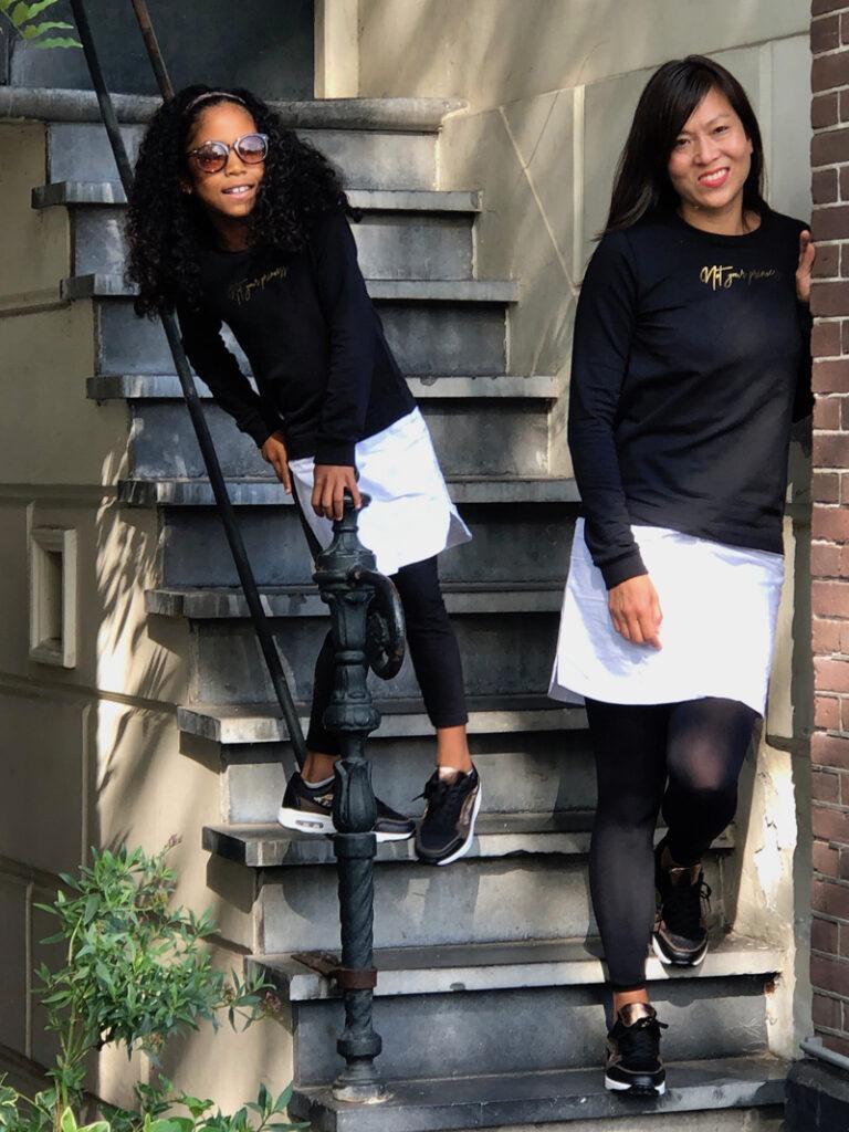 twinning style, moeder en dochter twinnen, girlslabel