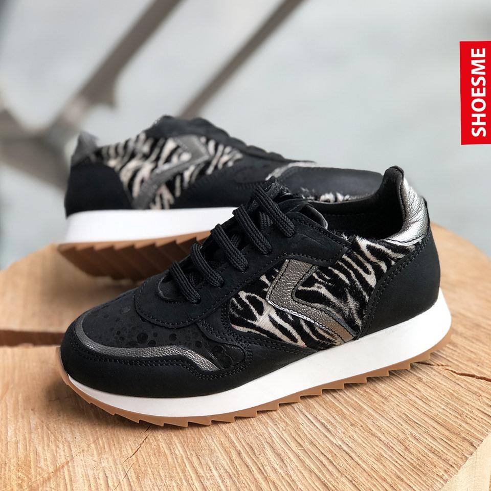 meisjes sneakers zebra print
