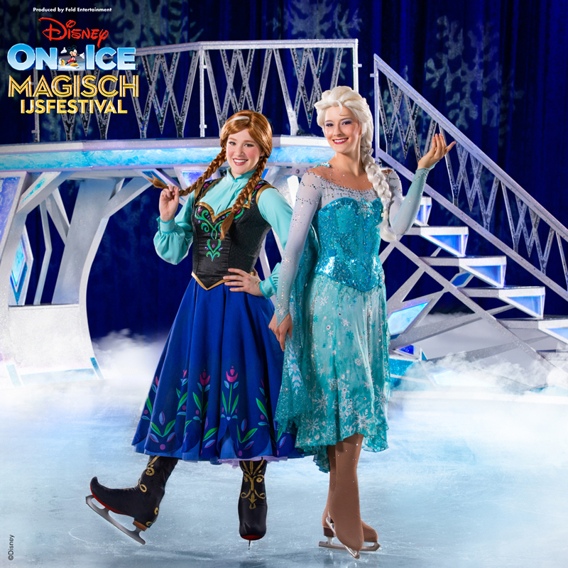 Anna en Elsa, Disney On Ice Magisch IJsfestival