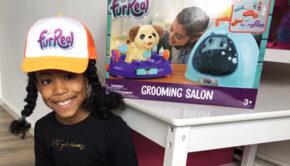 furreal grooming salon, furreal dieren, speelgoed huisdier
