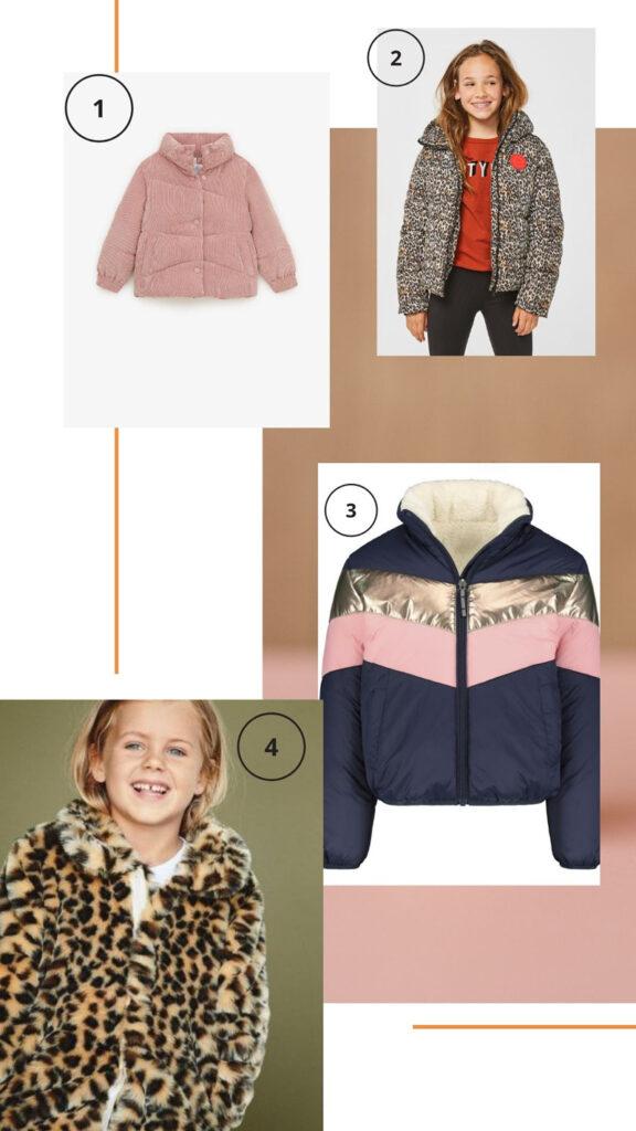 meisjes winterjassen onder de 50 euro, betaalbare winterjassen, goedkope winterjas