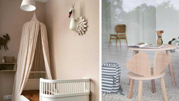 scandinavische kinderkamer, scandinavisch design
