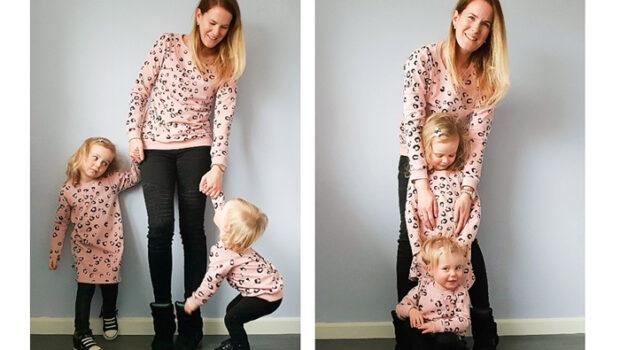 twinnen met je kind, girlslabel, twinning, moeder en dochters